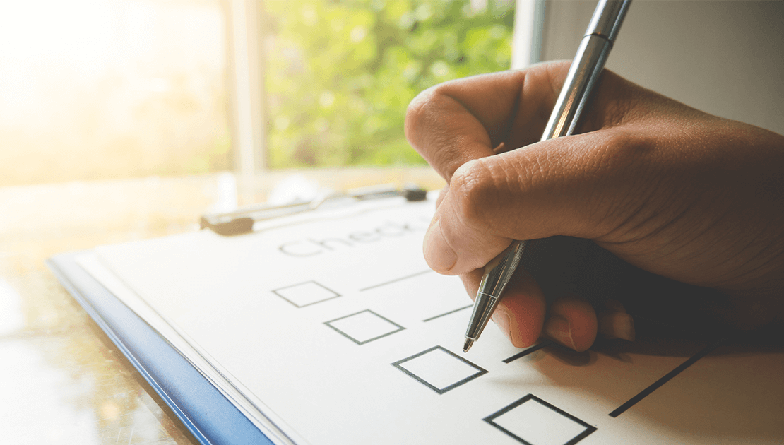 Checkliste für Bewerbungsgespräche