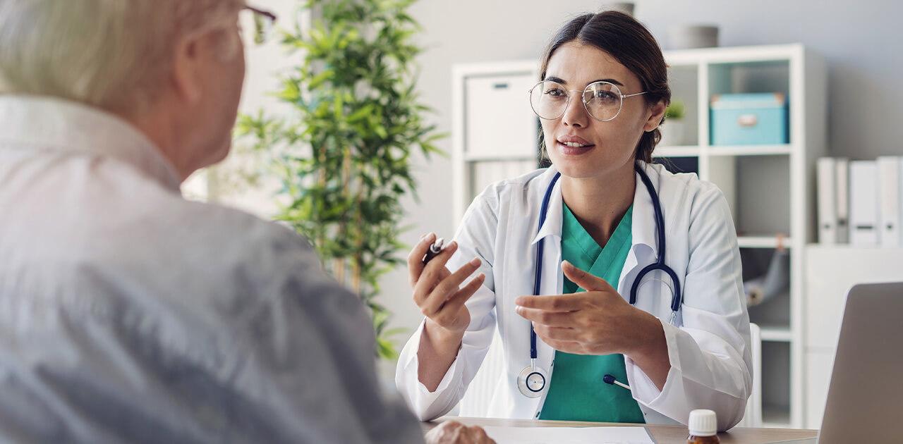 Was macht ein*e Arzt*Ärztin?