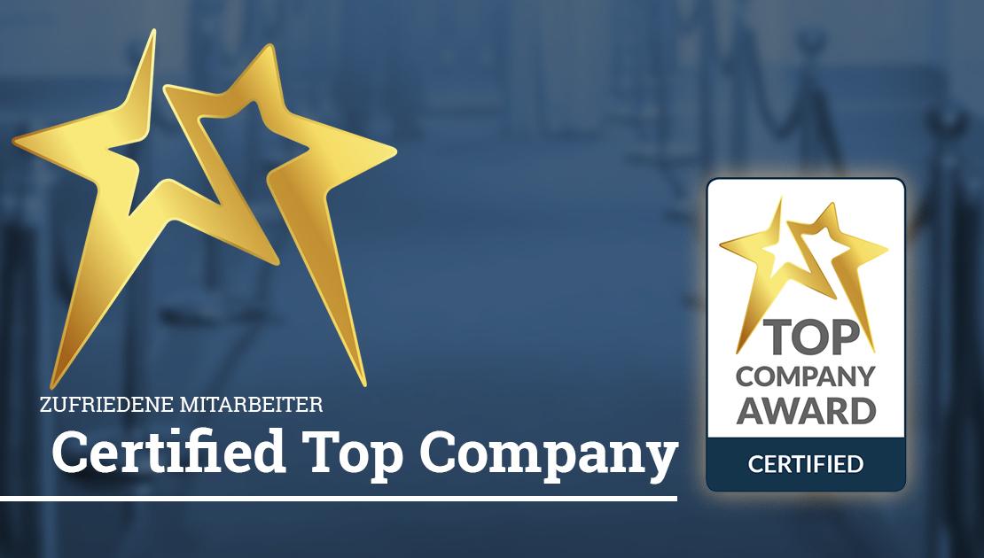 Jetzt Certified Top Company werden!