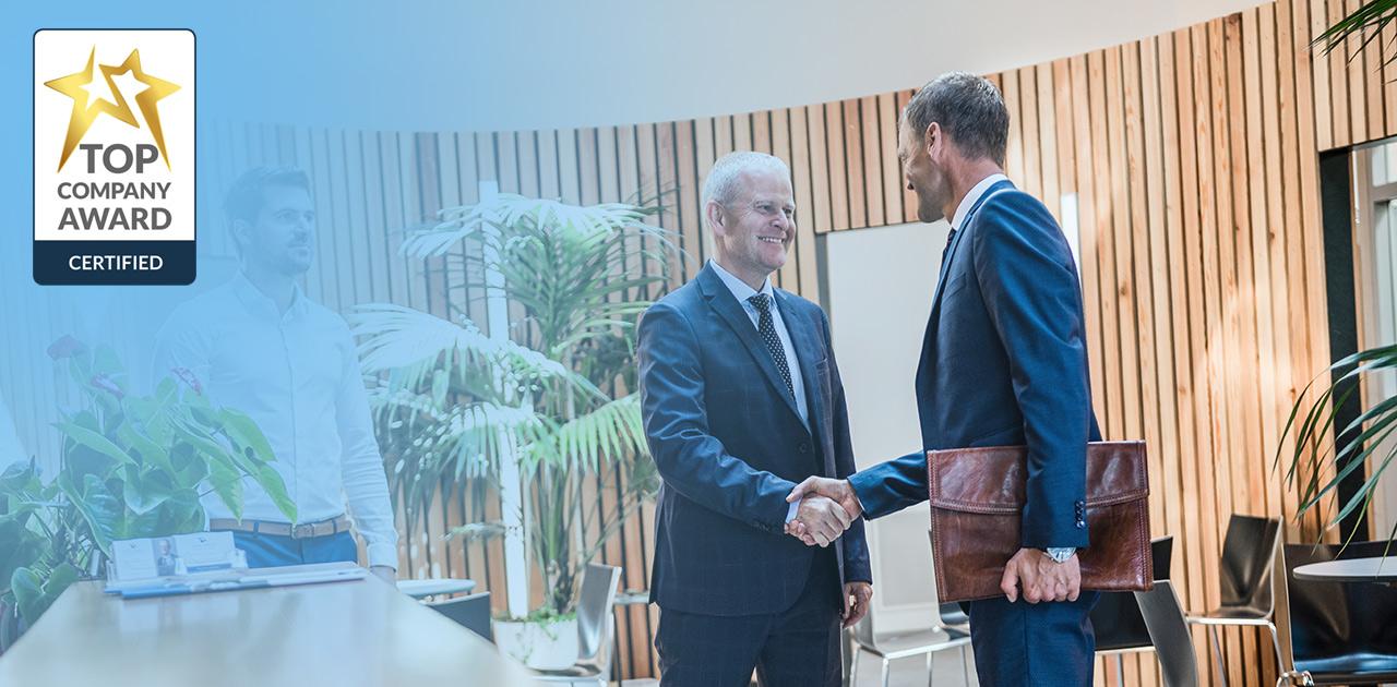 Graber & Partner GmbH mit Top Company Auszeichnung