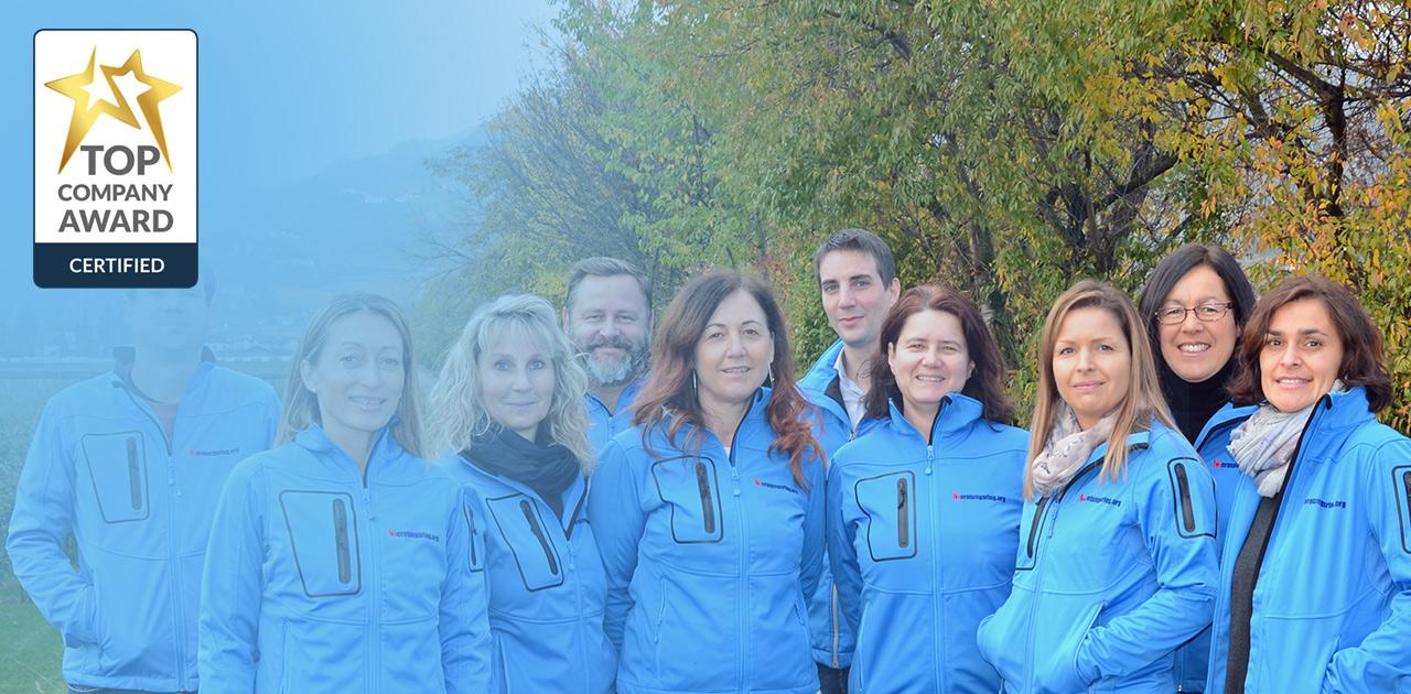 Südtiroler Beratungsring mit Top Company Auszeichnung