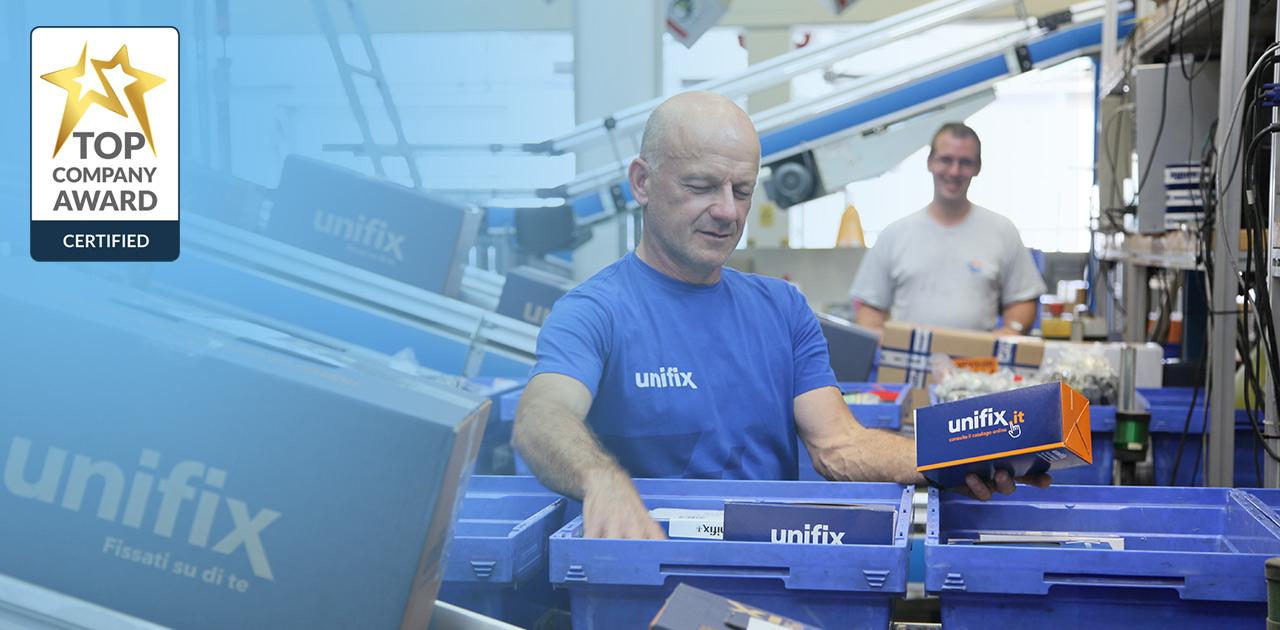 Unifix SWG mit Top Company Auszeichnung