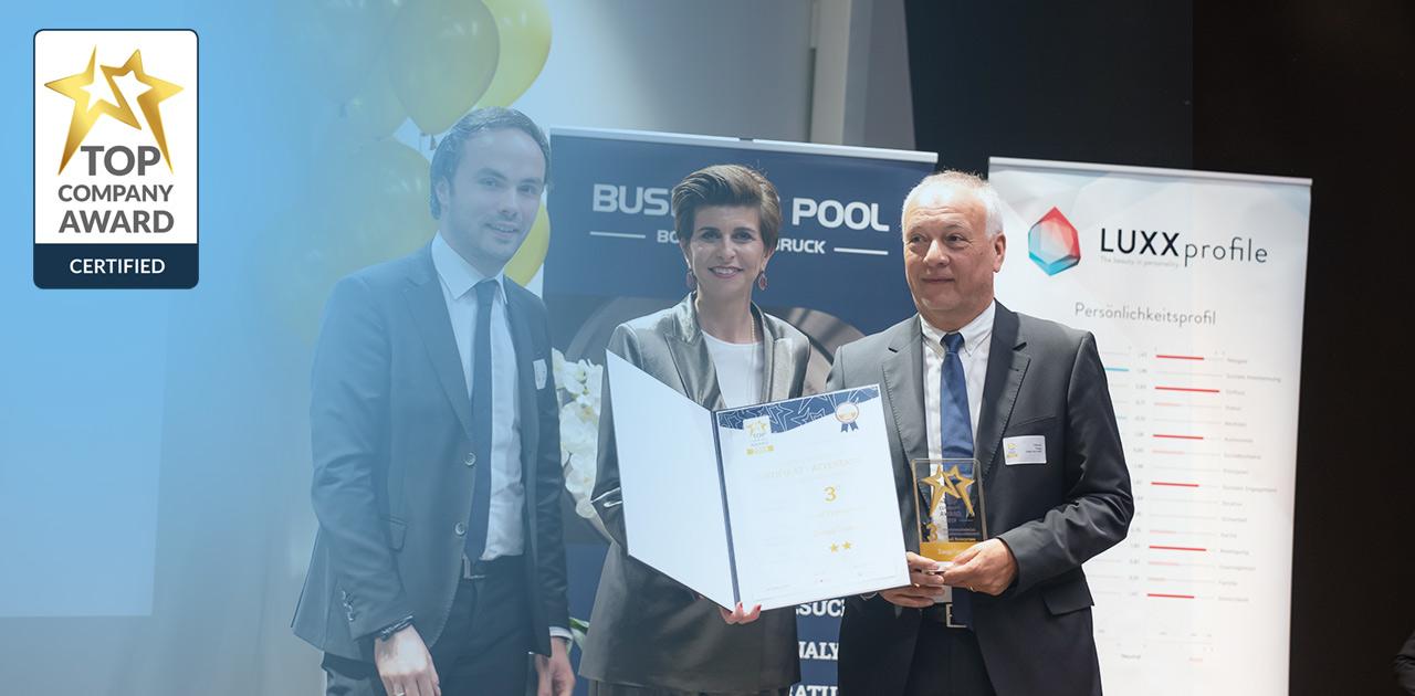 Zuegg Com GmbH mit Top Company Auszeichnung
