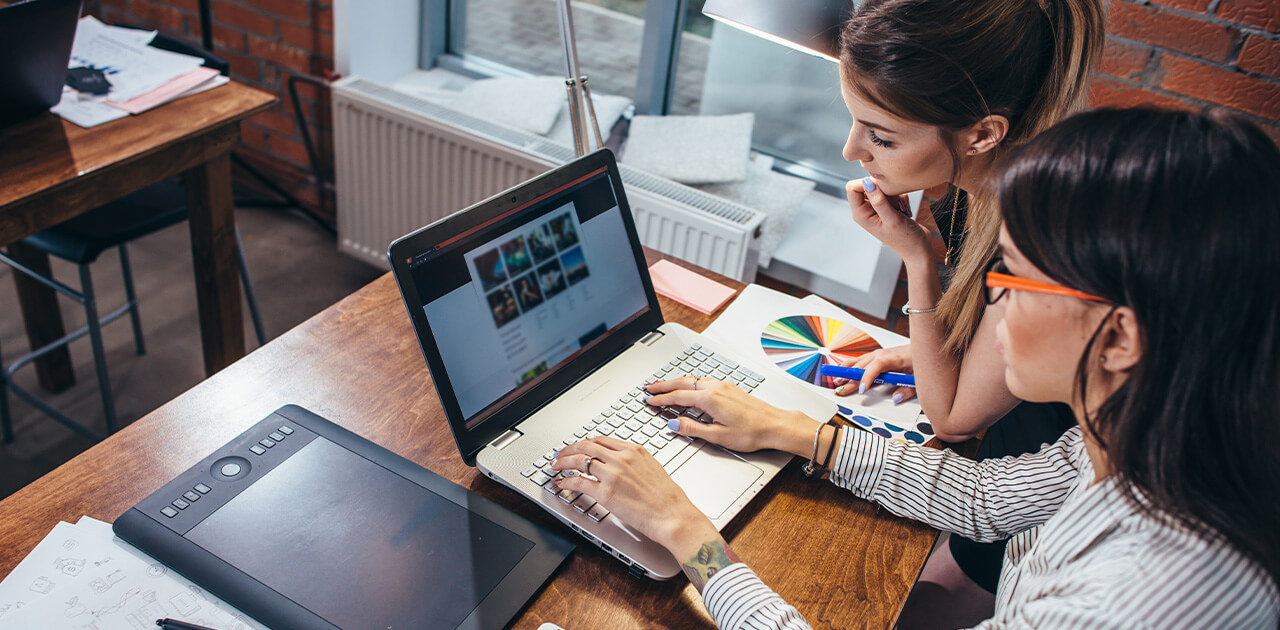 Was macht ein*e Webdesigner*in?